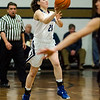 St. Bernard's Abigail Browchuk in action during the game against Holy Name on Thursday evening. SENTINEL & ENTERPRISE / Ashley Green