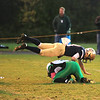 Parker Bigelow soars over a  Sutton player