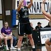 St. Bernard's Central Catholic High School girls basketball Lowell Catholic High School Friday, Feb. 7, 2020 in Fitchburg. LCHS's #4 Emily Bartlett.  SENTINEL & ENTERPRISE/JOHN LOVE