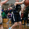 St. Bernard's Central Catholic High School girls basketball Lowell Catholic High School Friday, Feb. 7, 2020 in Fitchburg. LCHS's #5 Emma Araujo. SENTINEL & ENTERPRISE/JOHN LOVE