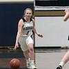 St. Bernard's Central Catholic High School girls basketball Lowell Catholic High School Friday, Feb. 7, 2020 in Fitchburg. St. B's #3 Hadleigh Bigelow SENTINEL& ENTERPRISE/JOHN LOVE