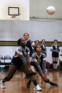 St. B's Volleyball vs Weston High School, September 25, 2018