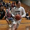 St. Bernard's Central Catholic High School boys basketball played Holy Name High School on Thursday night, Jan. 2, 2020 at ST. B's Activity Center. St. B's #32 Ryan Loiselle. SENTINEL & ENTERPRISE/JOHN LOVE