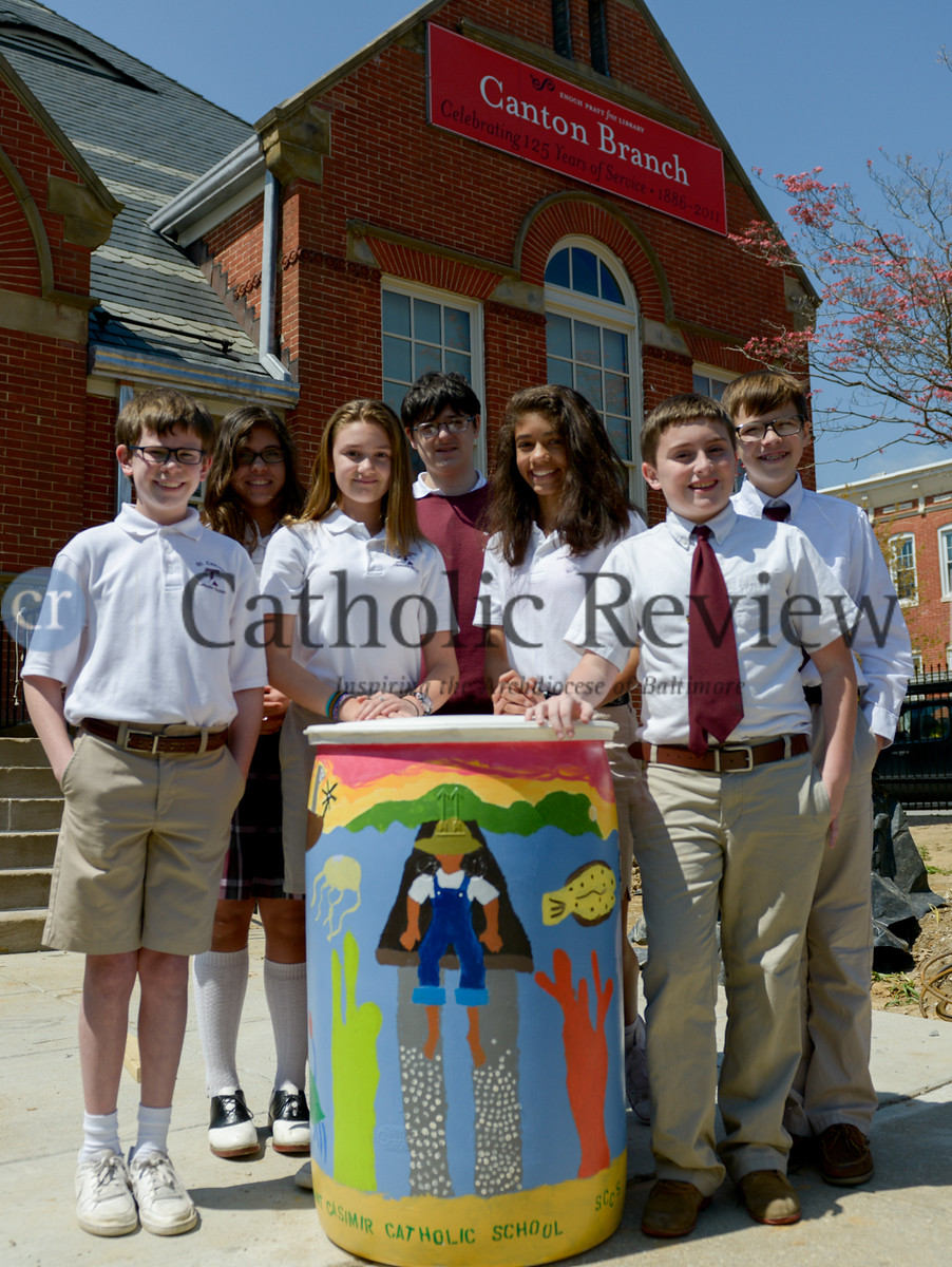 St. Casimir School Rain-Barrel Project