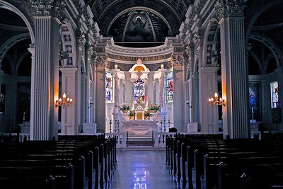 Interior of St. Catharine's Church in Spring Lake