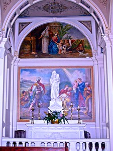 Our Lady's Altar In St. Catharine's Church