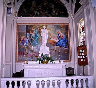 St. Joseph Altar in St. Catharine Church