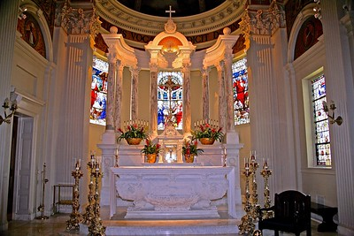 The Main Altar in St. Catharine's Church