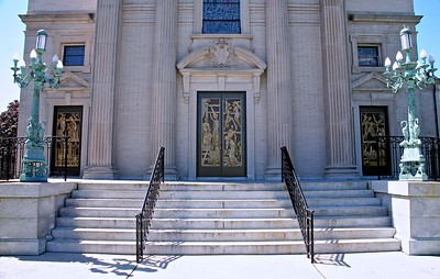 The Entrance to St. Catharine's Chuch in Spring lake