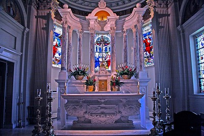 High Altar in St. Catharine's Catholic Church in Spring Lake