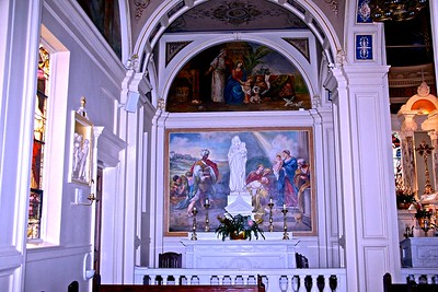 The Blessed Mother Altar in St. Catharine's Church