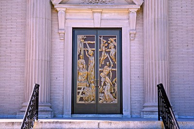 Front Doors of St. Catharine's Church