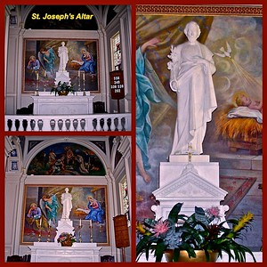 St. Joseph Chapel in St. Catharine's Church, Spring lake