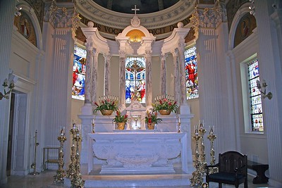 The Candlesticks and Crucifix in St. Catharine