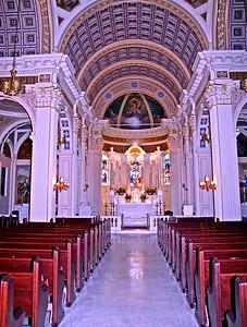 Interior of St. Catharine's Church