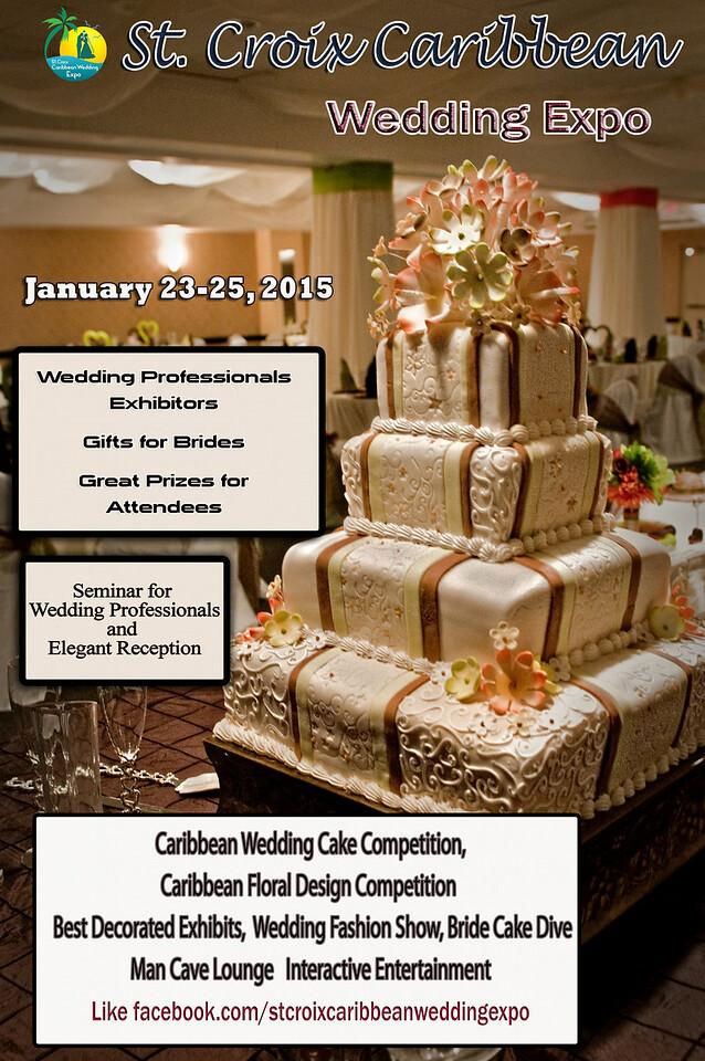 St. Croix Caribbean Wedding Expo Flyer 1
