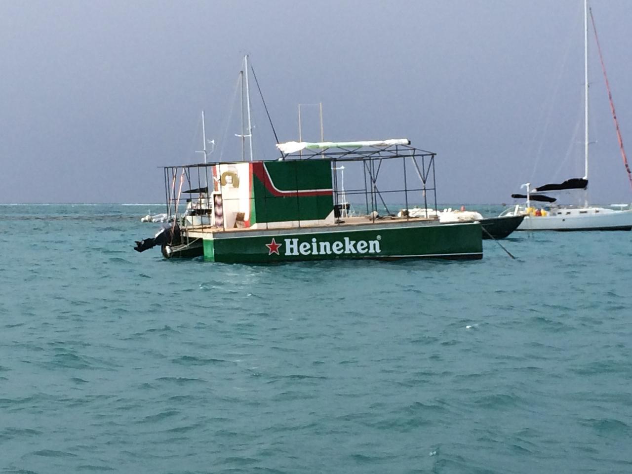 Heineken Boat