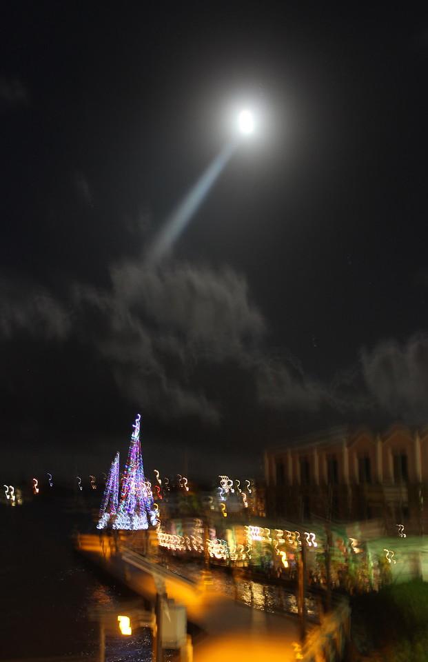 Moonlight at the Harbor