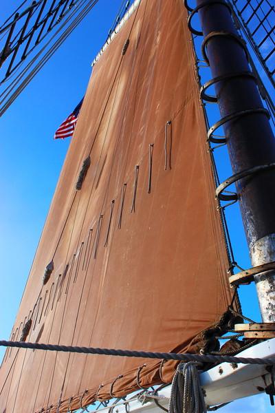 Roseway Schooner Sail and Flag