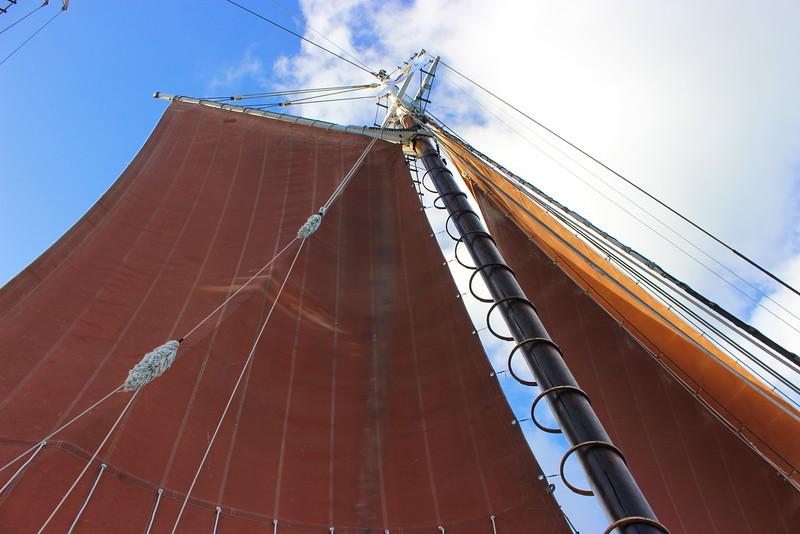 Roseway Schooner Mast and Sails