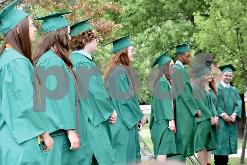 -Messenger photo by Elijah Decious<br /> <br /> St. Edmond's class of 2020 had 47 graduates.