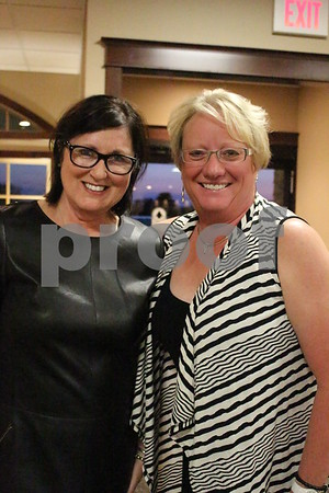 Sue Bemrich and Lynette Pearson