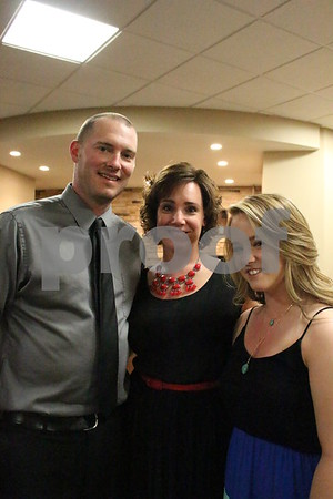 Shawn Neverman, Sarah Neverman, and Stephanie Biggins
