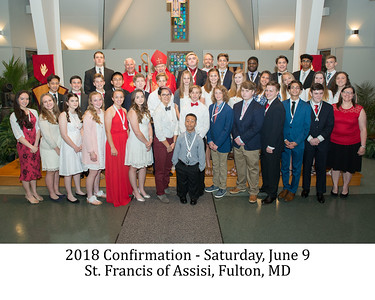 2018 Confirmation Mass