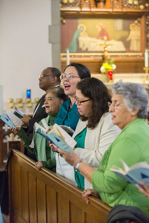 Mass at St. Gabriel Church in Petworth