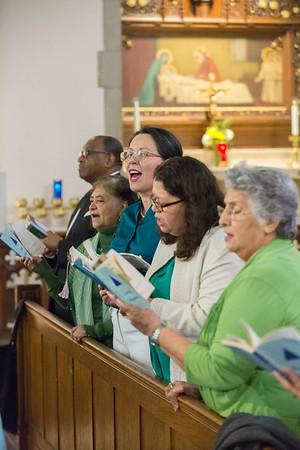 Mass at St. Gabriel Church in Petworth