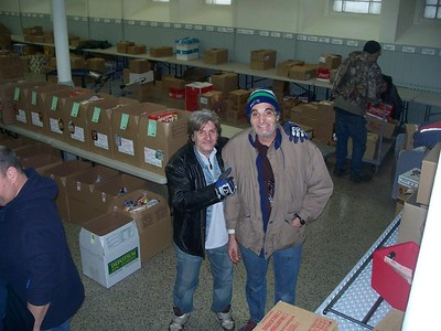 PETER & RONNIE - LOCAL VOLUNTEERS