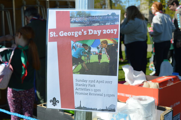 St Georges Day 2017
