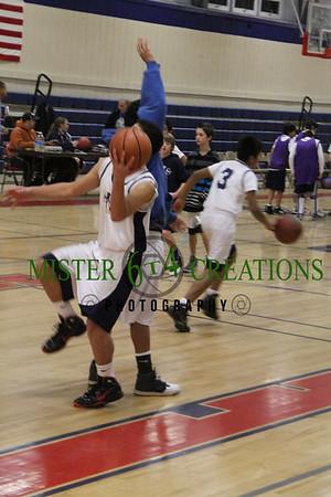 10-11 Season - Boys Varsity vs Sacred Heart January 8, 2011
