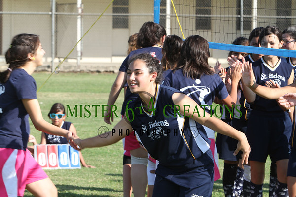 Flag Football, Volleyball and Cheerleading ~ October 18, 2011