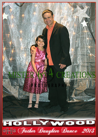 2013 Father Daughter Framed Photos