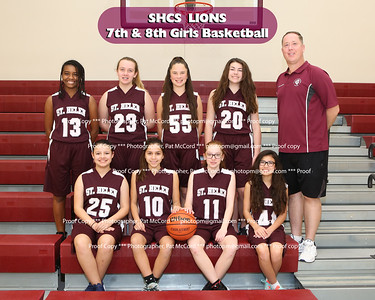 2017 St Helen Basketball
