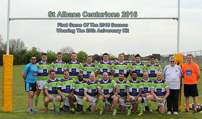 St Ives Roosters -v- CENTS (May 2016).