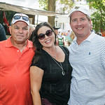 Jim Sumser from Sandusky with Heather O\'Mara and Karl Renninger.