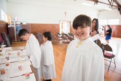 St John Neumann First Communion 2017 Second Mass