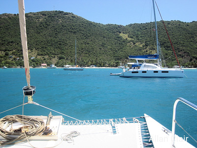 Heading Into Great Bay, Jost van Dyke, BVI