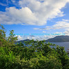 View of BVI from St  John