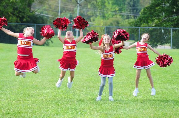 3rd 4th Football Cheerleaders