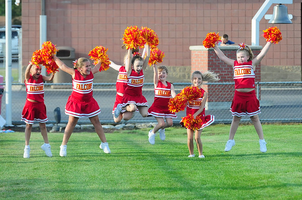3rd 4th Football Cheerleaders