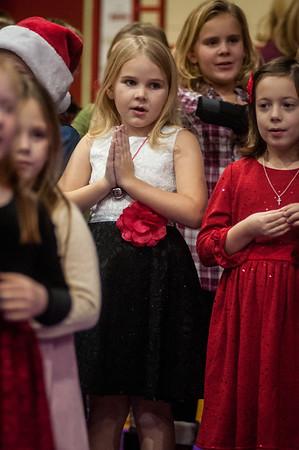 2017-12-11 Kindergarden-3rd Grade Christmas program