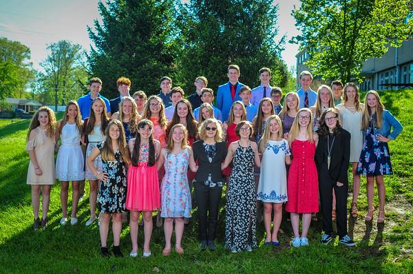 2018 Spring 8th Grade Photos