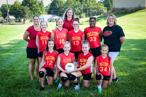 6th Girls Volleyball