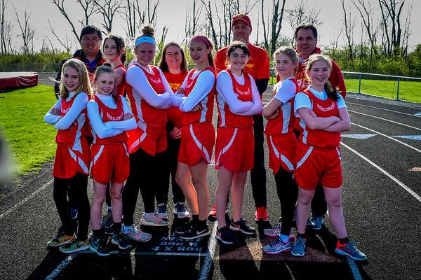 7-8 Track Team