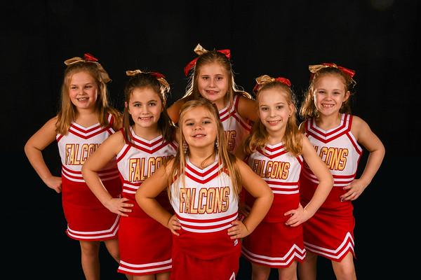 Basektball Cheerleaders Group 2