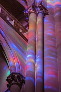 Colorful Limestone Columns