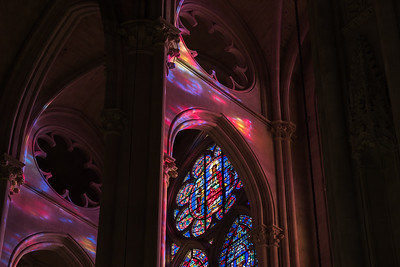 Stained Glass Colors at St. John the Divine